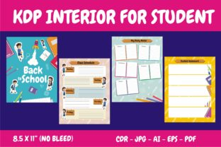 Print on Demand: KDP Interior Back to School Ready Print Graphic KDP Interiors By edywiyonopp