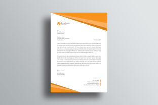 Print on Demand: Letterhead Graphic Print Templates By graphicidenic