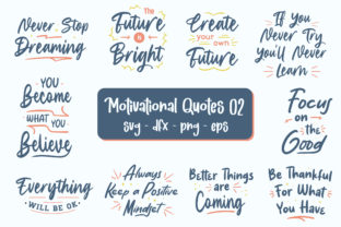 Print on Demand: Motivational Quotes Bundle Graphic Graphic Print Templates By TypeFactory