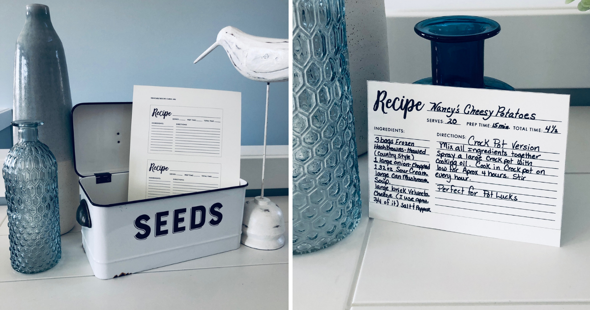 Organize All Those Recipes with Creative Graphics