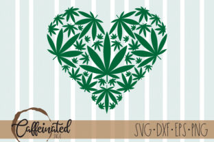 Weed Heart Graphic Crafts By kaitlynplynch