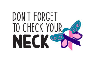 Thyroid Cancer Awareness Cancer Awareness Craft Cut File By Creative Fabrica Crafts