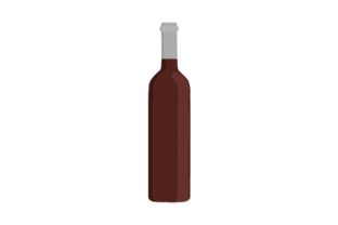 Wine Bottle Mockup Food & Drinks Craft Cut File By Creative Fabrica Crafts