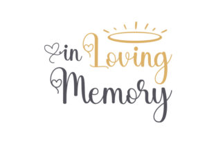 In Loving Memory Frases Archivo de Corte Craft Por Creative Fabrica Crafts