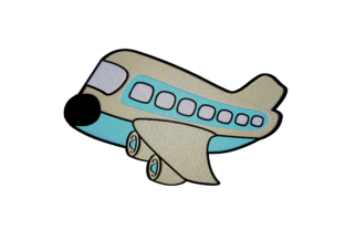 Print on Demand: Airplane Toy Toys & Games Embroidery Design By embroidery dp