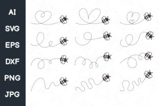 Print on Demand: Bee Graphic Illustrations By CRStocker