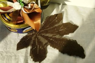 Chestnut Leaf Forest & Trees Embroidery Design By EmbDesigns