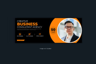 Print on Demand: Corporate Business Facebook Cover Banner Graphic Web Templates By grgroup03
