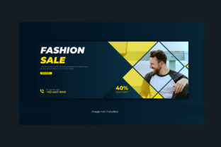 Print on Demand: Fashion Lifestyle Facebook Cover Banner Graphic Web Templates By grgroup03