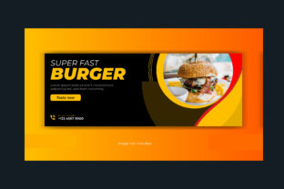 Food Restaurant Facebook Cover Banner Graphic Web Templates By grgroup03