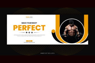 Gym Fitness Training Facebook Cover Page Graphic Web Templates By grgroup03