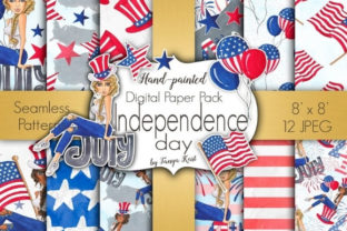 Independence Day Patterns Graphic Patterns By Tanya Kart