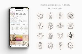 Print on Demand: Instagram Highlight Story Templates. Jar Graphic Icons By Olya.Creative