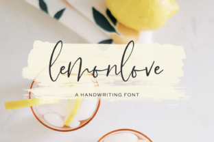 Print on Demand: Lemonlove Script & Handwritten Font By BeckMcCormick