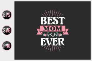 Print on Demand: Mom Typographic Slogan Design. Graphic Print Templates By ajgortee