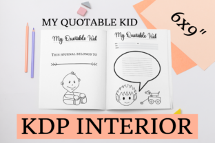 Print on Demand: My Quotable Kid | KDP Interior Grafik KPD Innenseiten von KDP Mastermind