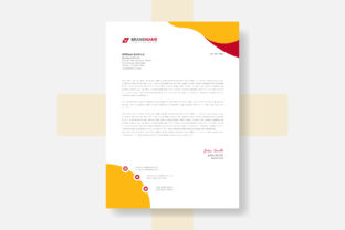 Professional Letterhead Template Design Graphic Web Templates By grgroup03
