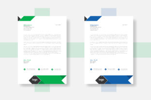 Professional Letterhead Template Two Set Graphic Web Templates By grgroup03