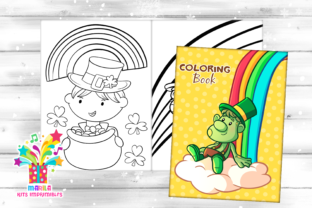 Print on Demand: St. Patrick's Day Coloring Book Graphic Coloring Pages & Books Kids By marilakits