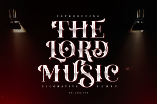 Print on Demand: The Lord Music Decorative Font By JavaPep