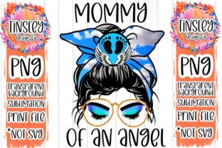 Angel Mom Mother Child Sublimation Baby Graphic Print Templates By tiffanator606