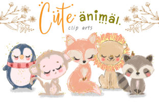 Animal Clip Arts Graphic Illustrations By Hippogifts