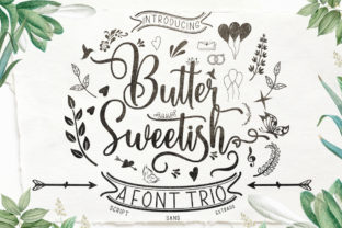 Print on Demand: Butter Sweetish Script & Handwritten Font By softcreative50