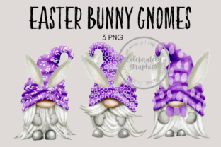 Easter Bunny Gnome PNG Clipart Graphic Illustrations By Celebrately Graphics