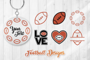Print on Demand: Football SVG - American Football Designs Graphic Crafts By DTCreativeLab