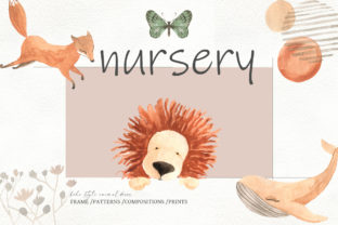 Print on Demand: Nursery, Boho Style Animal Decor Graphic Illustrations By laffresco04