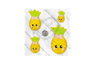 Pineapple Sweety Food & Dining Embroidery Design By Yours Truly Designs