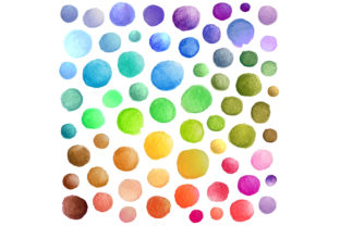Watercolor Vector Stains Graphic Textures By BalabOlka