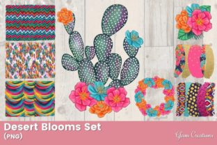 Desert Blooms Set Graphic Illustrations By Glam Creations