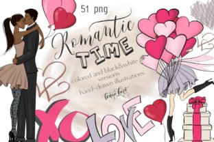 Romantic Time Clipart Graphic Illustrations By Tanya Kart