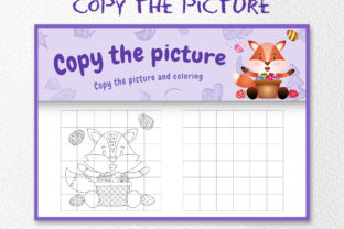A Cute Fox Easter 5 - Copy the Picture Graphic 10th grade By wijayariko