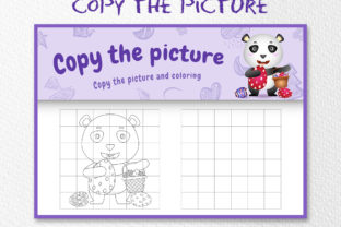 A Cute Panda Easter 4 - Copy the Picture Graphic 10th grade By wijayariko