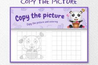 A Cute Panda Easter 5 - Copy the Picture Graphic 10th grade By wijayariko