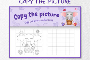 A Elephant Easter 5 - Copy the Picture Graphic 10th grade By wijayariko