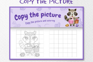 A Raccoon Easter 4 - Copy the Picture Graphic 10th grade By wijayariko