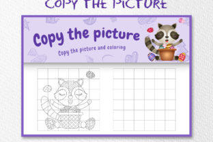 A Raccoon Easter 5 - Copy the Picture Graphic 10th grade By wijayariko