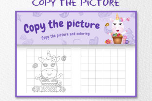 A Unicorn Easter 5 - Copy the Picture Graphic 10th grade By wijayariko
