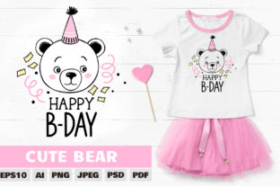 Cute Bear Clipart. Teddy Bear Sublimation Graphic Illustrations By yana26789
