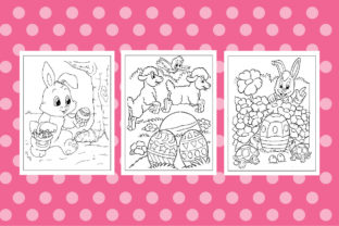 Easter Coloring Book Pages for Kids Graphic Coloring Pages & Books Kids By Creative Color Designe