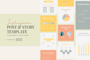 Print on Demand: Fun Creative Charts Instagram Graphic Graphic Templates By peterdraw