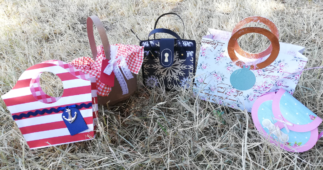 Make Mini Paper Handbags for Gifts and Party Favors
