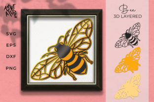 Bee 3D Layered