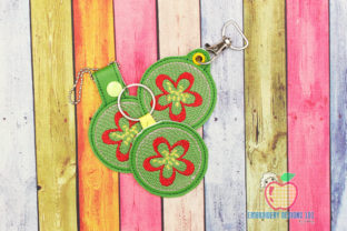 Guava ITH Keyfob Design Food & Dining Embroidery Design By embroiderydesigns101