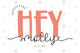 Print on Demand: Hey Molly Manuscrita Fuente Por Dani (7NTypes)