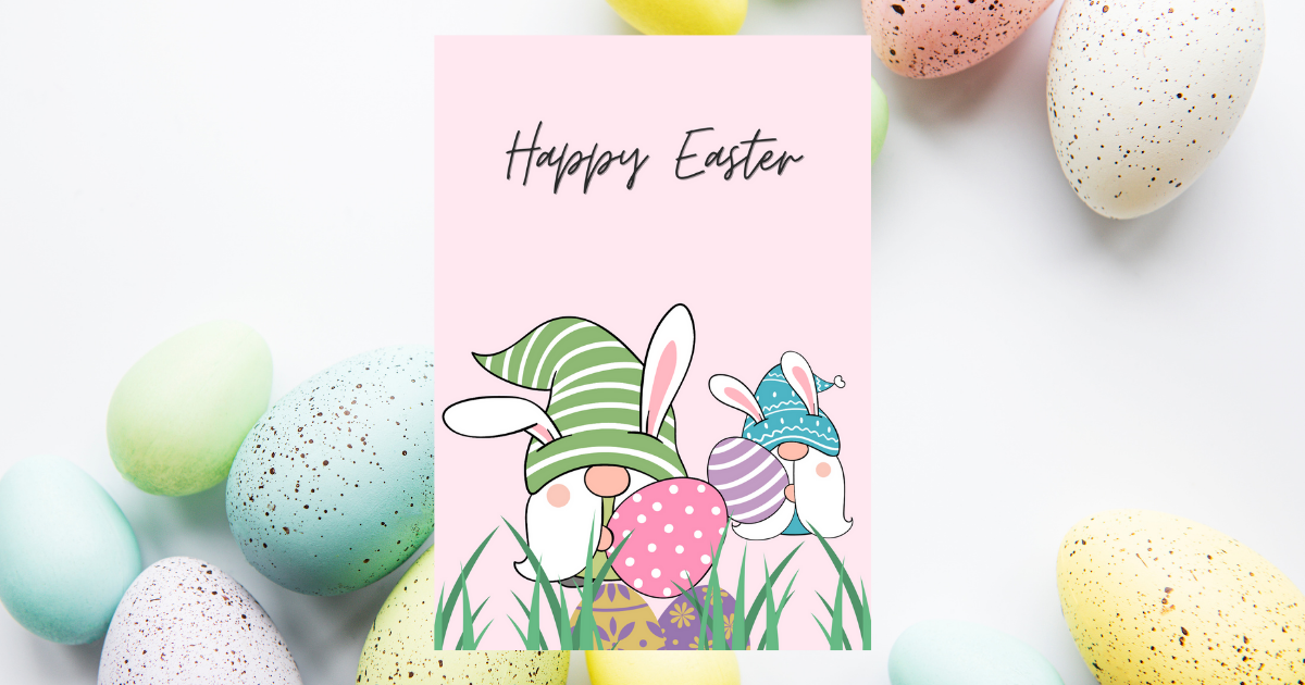 How to Create Easter Postcards using Canva