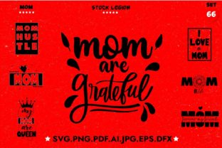 Mom Bundle Graphic Objects By sidd77